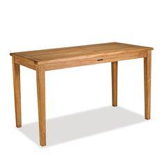Medium Teak Gathering Table (Counter Height) | Bainbridge Collection