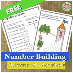PDL's Number Building Staircases FREE Explore addition, common difference, multiplication, division and more.