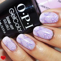 nails.quenalbertini: OPI GelColor I'm Gown for Anything & MoYou London Fashionista 17