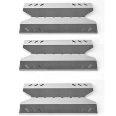 3 PACK Stainless Steel Heat Plate Replacement for Kenmore, Academy BBQ Pro and Outdoor Gourmet Gas Grill Models Fits Kenmore Model: