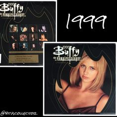 Buffy the Vampire Slayer - 1999 Calendar  #btvscollector #btvs #buffy #buffythevampireslayer