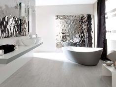 Wall tiles Sea Silver 33,3x100 cm | STON-KER™ floor tiles Madagascar Natural 44x66 cm