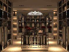 LUXURY CLOSET IDEAS | #luxury |luxurylifestyle | luxurylife | bocadolobo.com