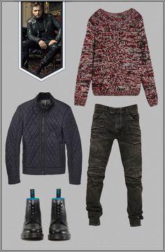 ICON FINDER // Ewan McGregor – Biker #Fashion #Style