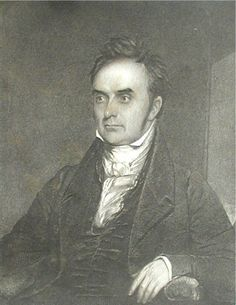 """""""Daniel Webster,"""" engraved by S. Schoff, after a painting by Chester Harding, published in Webster Works, (vol. Almost Always, Chester, Vignettes, Original Art, At Least, Portraits, Drawings, Illustration, Artist"""