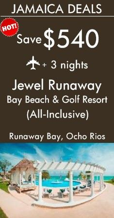 Runaway Bay - Jamaica: Jewel Runaway Bay Beach & Golf Resort All Inclusive | Includes upscale accommodations, loads of water and beach activities, delicious meals at 6 unique restaurants and a free greens fees at the PGA-quality golf course next door | View All Deals To Jamaica!