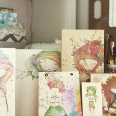 danielle donaldson | mixed-media art and illustration