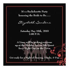 Bachelorette Party Invites #bacheloretteparty #bachelorette #invitations