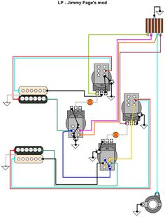 Precision Bass Wiring Diagram Rothstein Guitars %e2%80%a2 Serious Tone For The Player 99 Jeep Grand Cherokee 1278 Best Guitar Images In 2019 Electronics Hermetico Jimmy Page S Mod