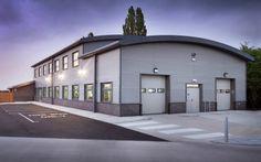 modern metal warehouse buildings - Google Search