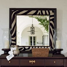 mirror black and white frame - Google Search