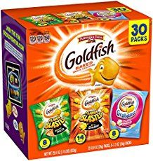 Pepperidge Farm Goldfish Variety Pack Bold Mix, (Box of 30 bags) * More info could be found at the image url. (This is an affiliate link and I receive a commission for the sales) Gourmet Recipes, Snack Recipes, Keto Recipes, Pepperidge Farm Goldfish, Goldfish Crackers, Animal Crackers, Frito Lay, No Bake Snacks, On The Go Snacks