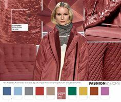 Pantone anuncia as 10 cores tendência para a moda outono/inverno 2016 - Follow the Colours      Pink-Adorable! Rose Bombom.