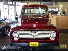 1953 Ford F100 Pickup Truck...the first truck I remember as a child that Dad owned.