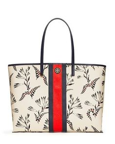 Find chic Mother's Day gifts like our Kerrington Stripe Square Tote on toryburch.com