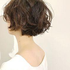 Short Permed Hair, Permed Hairstyles, Short Hair Cuts, Chin Length Hair, Hair Arrange, Hair Designs, Prom Hair, Hair Lengths, New Hair