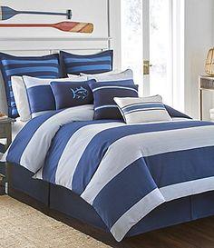Southern Tide Dock Street Striped Comforter Set