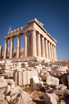 Parthenon of Athens, Greece
