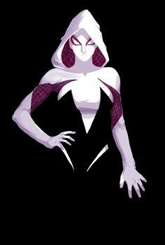 Spider-Gwen by Guilherme Gonçalves #Spiderwoman #Spiderman #SpiderVerse