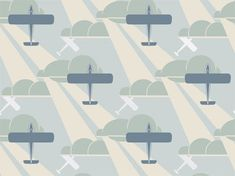 Old Gold Aeroplane (Art Deco) Designed by Raymond McGrath in the early Originally intended for a woman aviator's home. By Bradbury & Bradbury Art Wallpapers Wallpaper Art Deco, Retro Wallpaper, Retro Kunst, Retro Art, Art Nouveau, Art Deco Home, Home Art, Airplane Wallpaper, Home Crafts