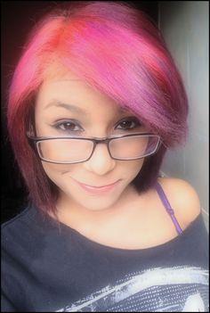 #pinkhair #purple #violet