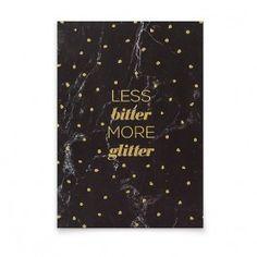 aprilplace // More Glitter // Postcard Din - Crafts Diy Craft Cards, Glitter, Diy Crafts, Paper, How To Make, Design, Joy Of Life, Madness, Kraft Paper