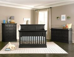 The Westwood Design Pine Ridge Convertible Panel Crib is a part of Westwood's super design group and is designed with many of the design inspirations Westwood is known for. The Pine Ridge Convertible Panel Crib features elegant panels, generous c Nursery Design, Nursery Decor, Room Decor, Nursery Sets, Pine Ridge, A Child Is Born, 5 Drawer Chest, Cribs, Toddler Bed