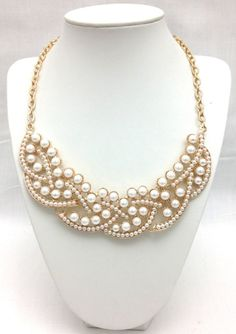 pearl collar necklace found at shopcaster