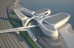 Regium Waterfront, Reggio Calabria, 2007 - Zaha Hadid Architects, Zaha Hadid