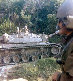 IDF Magach 6 in 1982 Lebanon War.