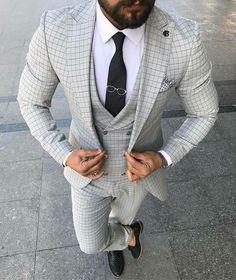 casual mens fashion that look trendy:) 692488 Mens Fashion Suits, Mens Suits, Men's Fashion, Fashion Photo, Stylish Men, Men Casual, Estilo Hipster, Designer Suits For Men, La Mode Masculine
