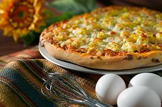 Breakfast pizza #Recipe