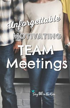 To be an effective, motivating direct sales leader - team trainings are essential.  Good trainings include tips, ideas, teamwork building activities.  All of these and more are included in this amazing agenda.   #team #teammeetings #inspiration #motivatio