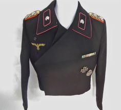Lot # : 252 - WWII German Panzer Uniform,  General Heinrich. Eberbach www.jjamesauctions.com