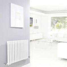 High Gloss White Revive Single Panel Rad 633mm x 826mm