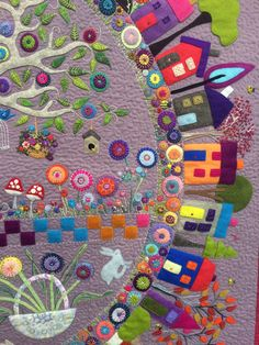 Great ideas for trees in the town and country quilt quilt blocks. By wendy williams?