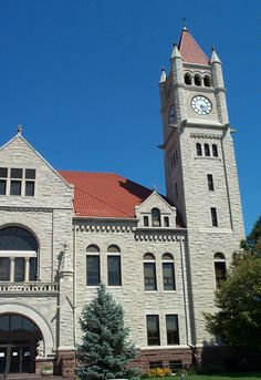 Greene County Courthouse in downtown Xenia.  A great monument.  We don't build courthouses like this anymore.