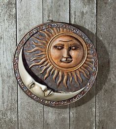 Sun & Moon Large Wall Celestial Birdfeeder