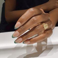 Gel Nails, Acrylic Nails, Nail Polish, Acrylic Art, Cute Nails, Pretty Nails, Nails Ideias, Minimalist Nails, Dream Nails