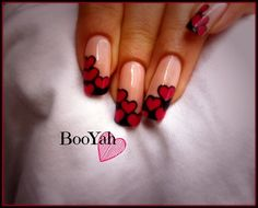 Pink hearts ❤ by BooYah