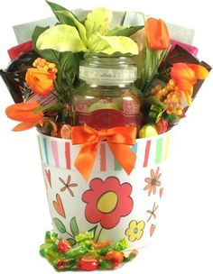 Gift Basket Village Fruit-Tea Delights Candy Gift Basket * You can find out more details at the link of the image.