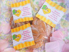 """Happy V-Day to my """"honey bun!"""" ;)"""