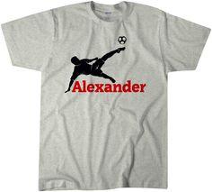 Soccer Shirt | Boy's Clothing | Birthday Shirt | Boy Custom Shirt | Custom Name | Name Shirt | Graphic Shirt | Kids Tees | Tops | T-shirts by CottonCandyDesignz on Etsy