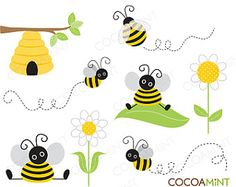 Items similar to Bumble Bee Banner/ Bumble Bee Birthday on Etsy