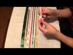 Вышивка лентами для начинающих. Материалы и инструменты. - YouTube