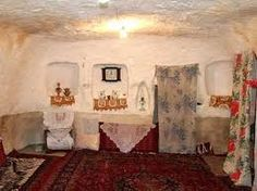 Image result for inside cave houses
