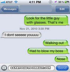 . - | - Auto Correct Text Fails