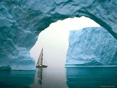 Ice Sailing - interesting idea...dunno if that's a good idea for me though...