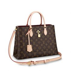 7fb05339b0 Flower Tote Monogram Canvas in Women s Handbags Business Bags collections  by Louis Vuitton