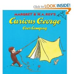 Books about Camping for Kids, I have this book George is an awesome little monkey and a good read for little ones.